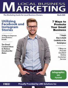 LBM March 2020 Cover | Local Business Marketing Magazine