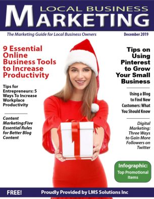 December Magazine Cover 2019 | LMS Solutions Inc.