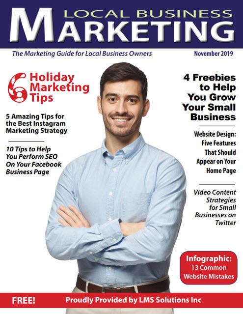 November Magazine Cover   Local Business Marketing Magazine