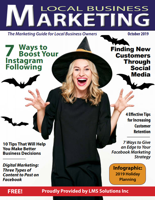 October Cover   Local Business Marketing Magazine